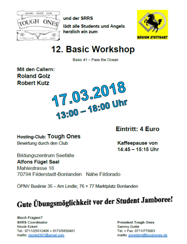SRRS Basic Workshop am 17.03.18